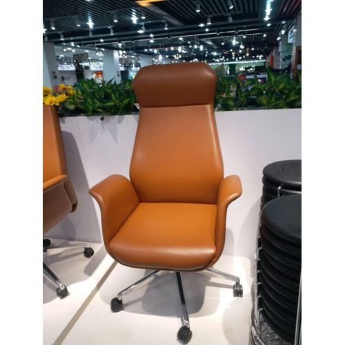 ELEGANCE EXECUTIVE LEATHER BROWN CHAIR