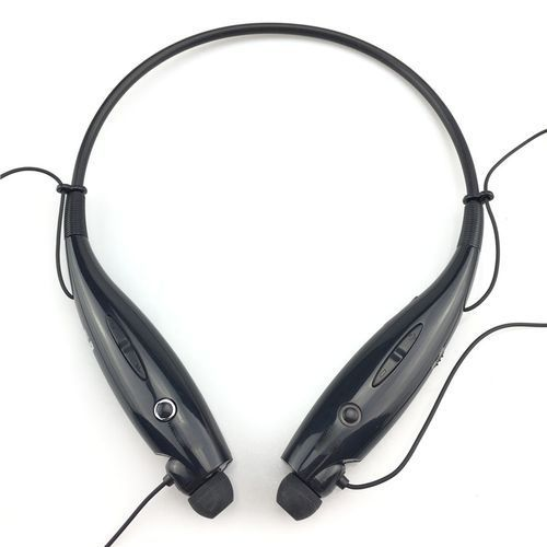 HBS-730 Wireless Bluetooth Headset Earphone Headphone- Black