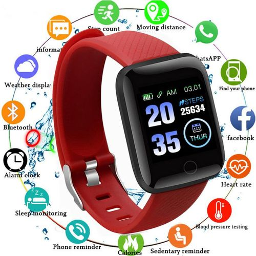 Smart Bracelet Heart Rate 1.3 Inch Blood Pressure Sleep A6S Waterproof USB Direct Charge Excellent Live APP