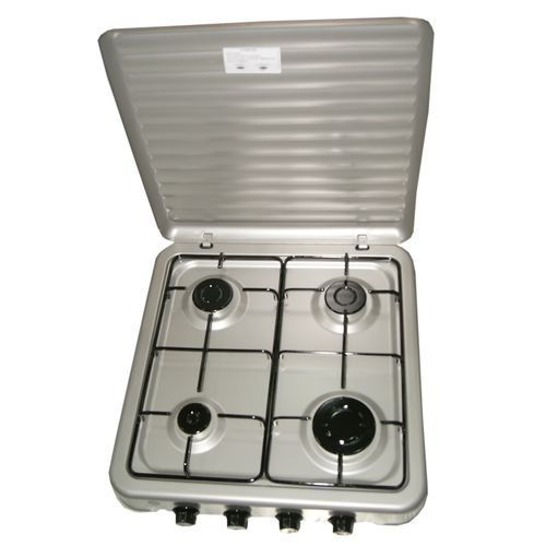 4 Burners Gas Cooker TC4-WS1216 - Silver
