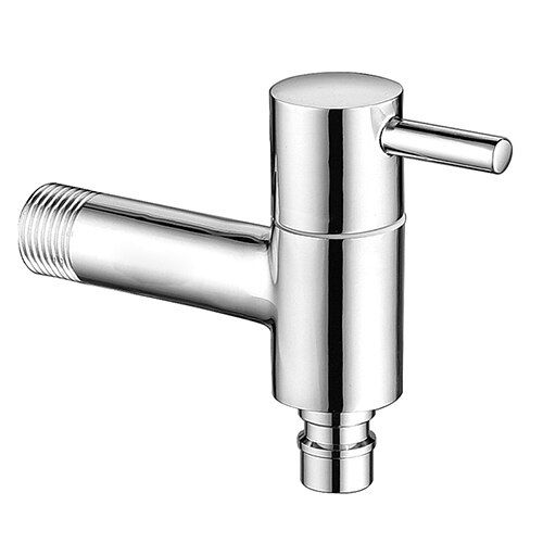 Fast On Faucets Drain Water Tap With Ornament Cover Long Duct Single Handle Facuet Wall Mounted Installation NIERSI Faucet