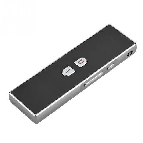 Portable 40 Languages Translator 2.4G Pocket Interpreter Intelligent Real Time Voice Multilingual Travel High Quality DJLAB