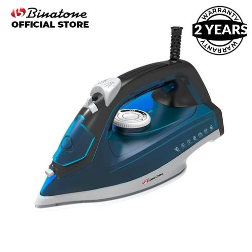 Smooth Gliding - Steam Iron SI-1860- Navy Blue