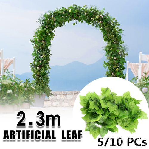 1X Artificial Plant Garland Ivy Decor Hot Green Home Foliage Flower Leaf