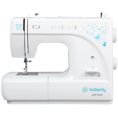 Butterfly Electric Sewing Machine - White