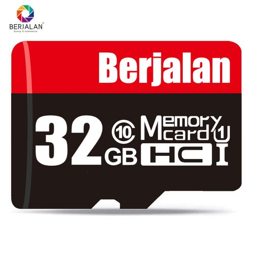 32GB Mobile Phone Memory Card TF Card Driving Recorder- Black