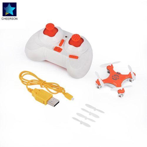 TA RC Quadcopter 4CH 2.4GHz Headless Mode Drone Orange For Cheerson CX-10