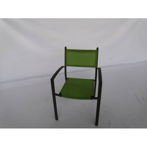 Metal Frame Chair With Textile Covering