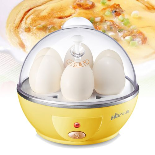 Stainless Steel Electric Egg Cooker Boiler Poacher Steamer 6 Eggs Omelette Maker