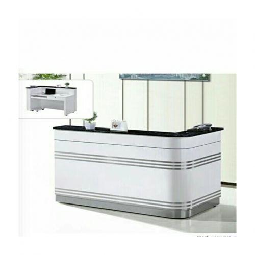 1.4M Zebra Reception Table (Delivery: See Description)