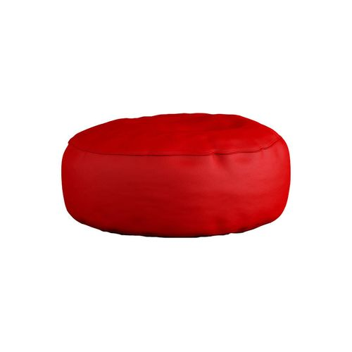 Spikkle Bean Bag Leather Chair - Red (Delivery To Lagos Only)