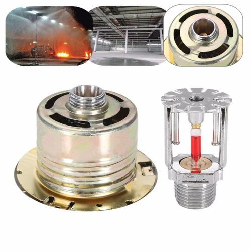 Hidden Type Fire Sprinkler Head W/Cover For Fire Extinguishing System Protection