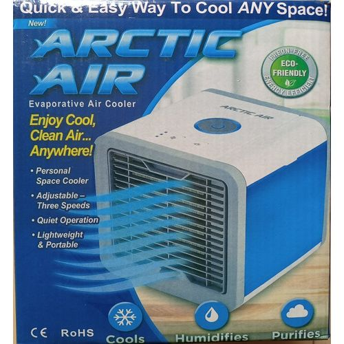 Mini Air Cooler Small Air Conditioning Appliance Mini Arctic Air Cooler / Fan Air Cooling Fan Summer Portable Strong Wind