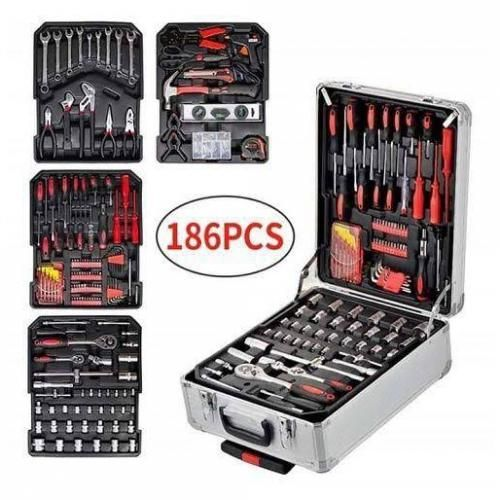 Electric & Mechanical Tools Box. Complete Set