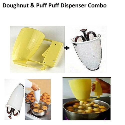Doughnut Maker Dispenser Donut Maker Dispenser + Puff Puff Batter Dispenser Puff Puff/Pancake/Cupcake/Muffins/Akara Combo