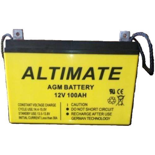 100AH 12V AGM Inverter Battery (German Technology)