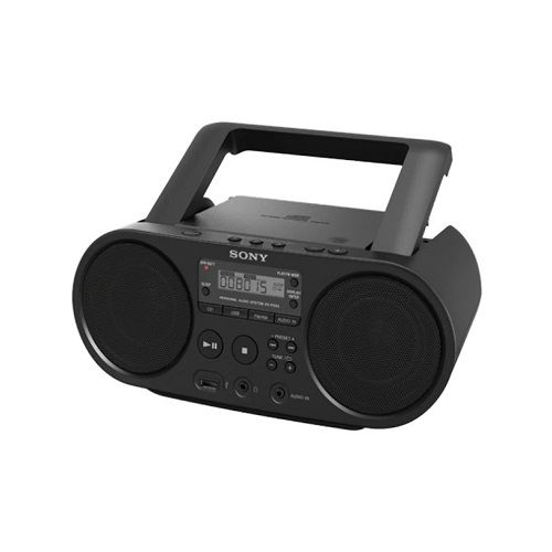 Cd Boombox With USB Playback And Am/Fm Radio