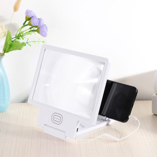 3D Enlarged Mobile Phone Screen Magnifier HD Video Amplifier Folding Expander HD Screen Magnifier With Speacker