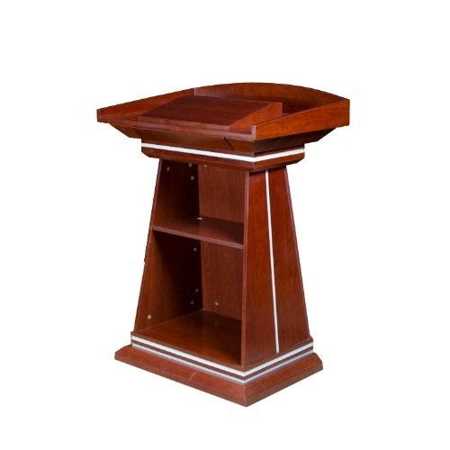 Office Furniture Brown Wooden Podium(Lagos Delivery Only, Charges Apply)