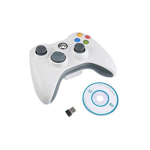 TA-Bluetooth Gamepad Wireless Joystick Handle Game Controller For Xbox 360 PC*White.