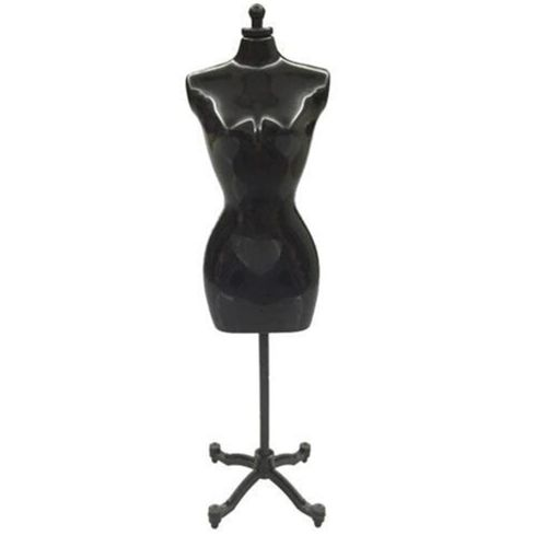 Free Spirit 30cm Mini Mannequin Dress Clothes Gown Model Stand For Doll Display Holder Height:Single(no Outer Packa