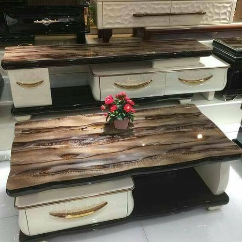 StylePlus Modern Center Table And TV Shelve Stand With Drawers