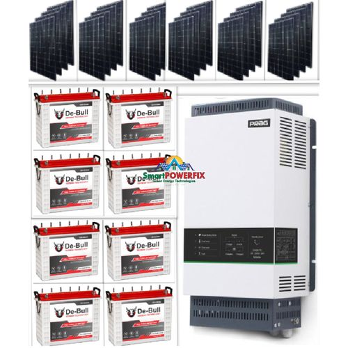 Solar Powered 5kva Inverter With 8 (200ah) Batteries