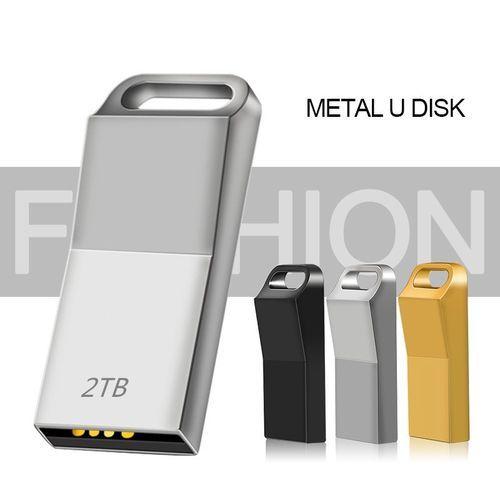 Super Waterproof 2TB Classic USB Flash Drive Metal Pen Drive USB Stick Metal Memory