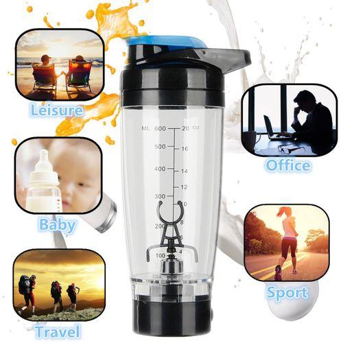 600ML Protein Shaker Blender Tornado Mixer Bottle Sport Milk Coffee Shaking Cup
