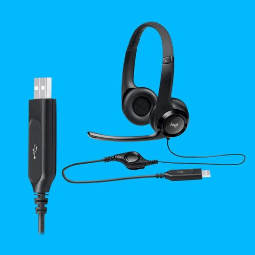 USB Headset H390 With Noise Cancelling Mic
