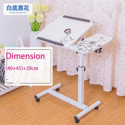 Laptop Adjustable Portable Table Desk Stand Lap Sofa Bed Tray Computer Notebook