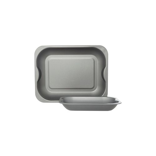 2-Pack Non-Stick Grey Roasters