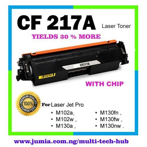 17A ( CF217A ) Toner Cartridge For HP LaserJet Pro MFP M130, M102w M102a M130nw M130fw M130fn M130a - WITH CHIP