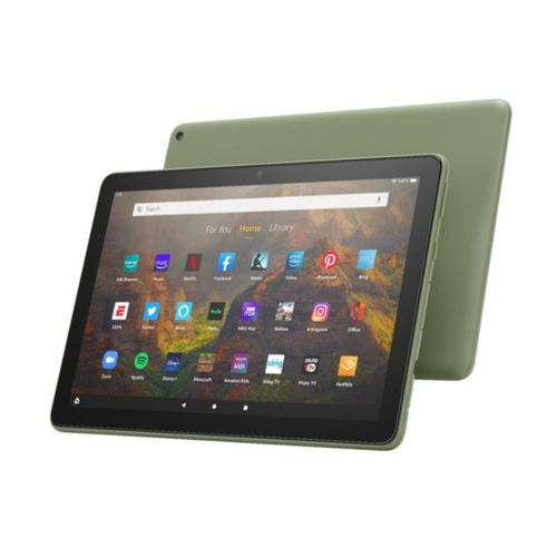 """All-new Fire HD 10 Tablet - (2021 Release) - 10.1"""" - Full HD - 32 GB - Olive"""
