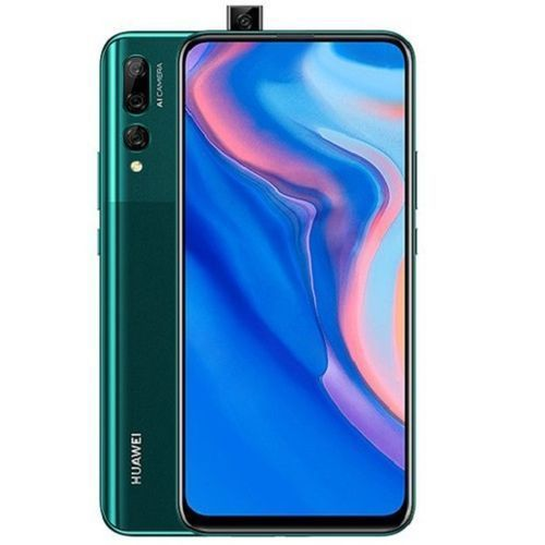 Y9 Prime 2019 6.59-Inch (4GB, 64GB ROM) Android 9, 16MP Pop-up Selfie Camera, 4000 MAh 4G Smartphone - Emerald Green