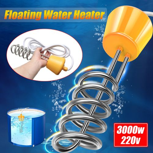 3000W Hot Water Heater Immersion Element Boiler For Bath Tub Swimming Pool New