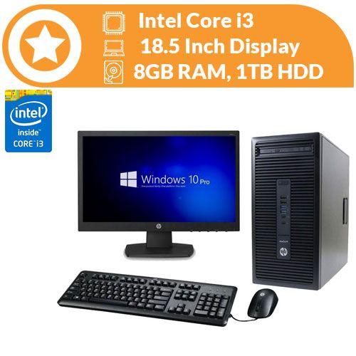 Prodesk 600 MT, Corei3 ,8GB RAM, 1TB HDD, Win10 & MS 2016