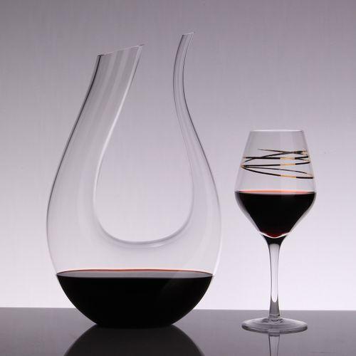Champagne Glasses Decanter Bottle Jug Pourer For Family Bar
