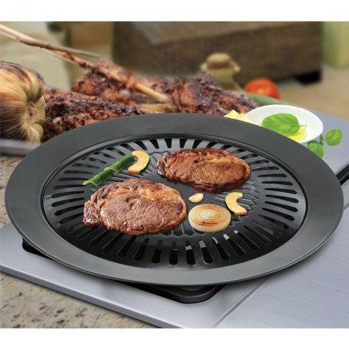 2Pcs Smokeless Stove Top Grill