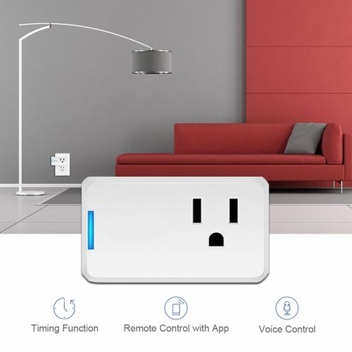 WiFi Smart Plug Outlet Socket Wireless APP Remote Control Timer Mini Switch