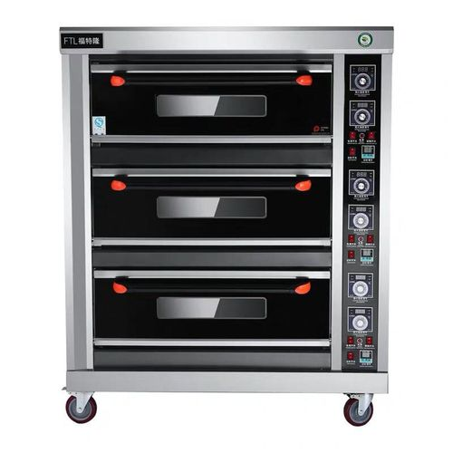3-Layer, 9-Plate Gas Oven
