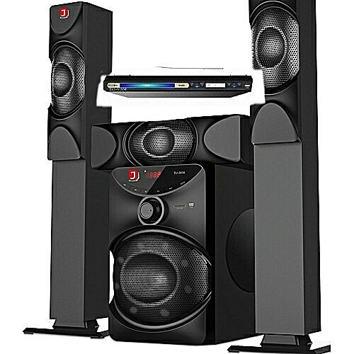 Djack Dj3030 Bluetooth Home Theatre System +DVD Player