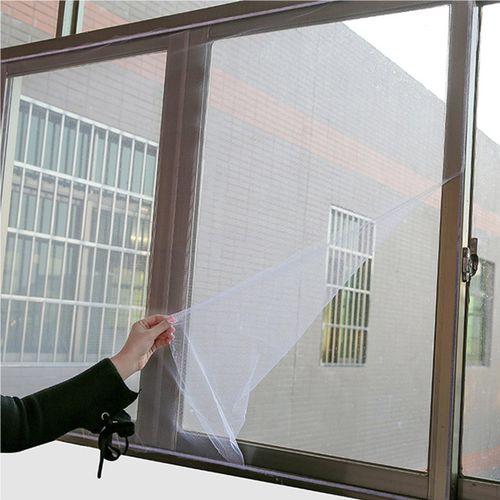Mosquito Door Deluxe Easy Window Net Mesh Cloth Curtain Protector Flyscreen