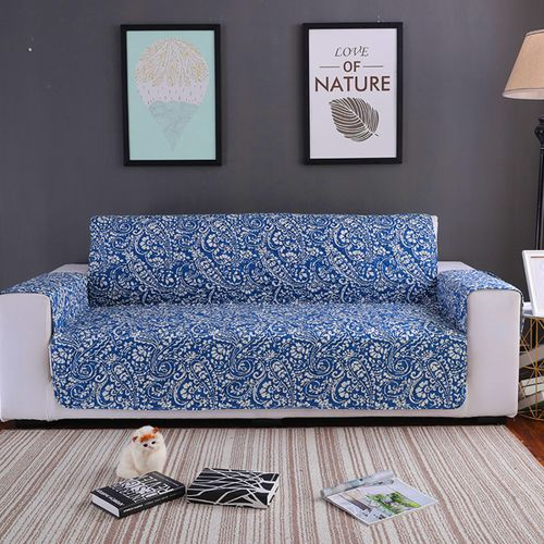 2 Seats Waterproof Pet Sofa Cushion Mat Slipcover Couch Protective Cover Pad -116*190cm