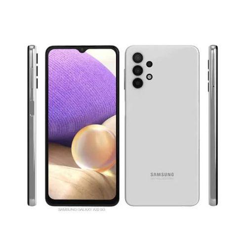 "Samsung Galaxy A32 - 6.4"", 6/128GB Memory, Camera - 64/8/5/5MP, 20MP Selfie, Dual SIM, 5,000Mah Battery, 4G LTE - white"