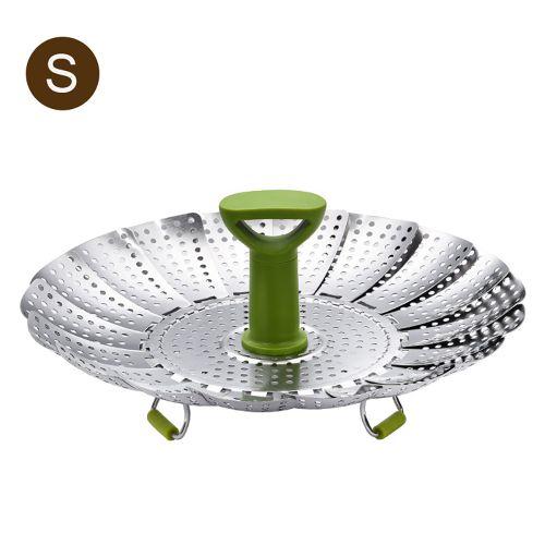 Steamer Basket Stainless Steel Vegetable Steamer Folding-S