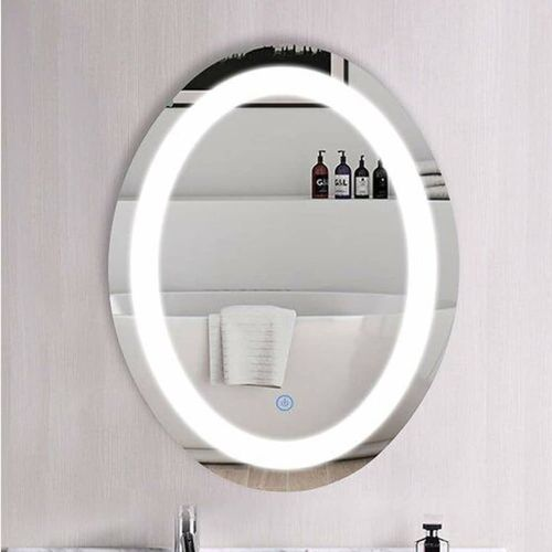 Oval Led Lighted Mirror