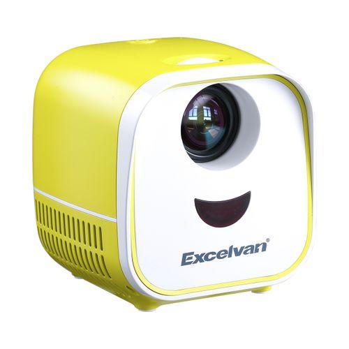 L1 Mini LCD Kids Toy Projector - Yellow