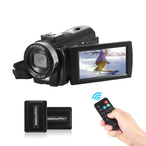 Andoer HDV-201LM 1080P FHD Digital Video Camera Camcorder