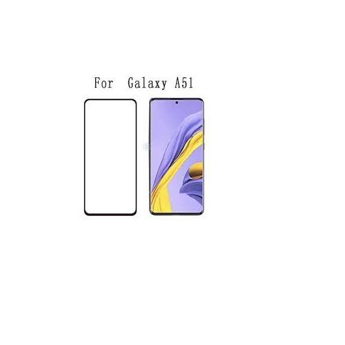 Screen Protector For Samsung Galaxy A51 Black